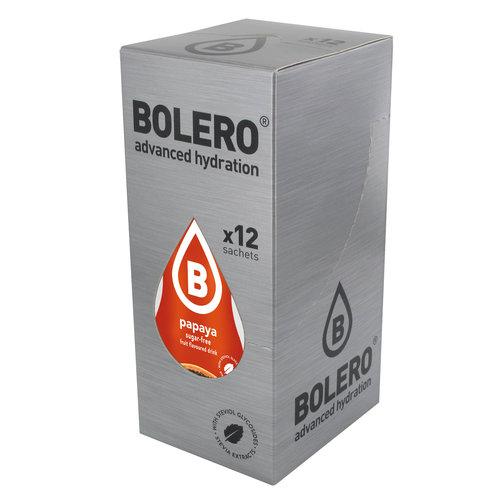 Bolero Papaya 12 sachets with Stevia