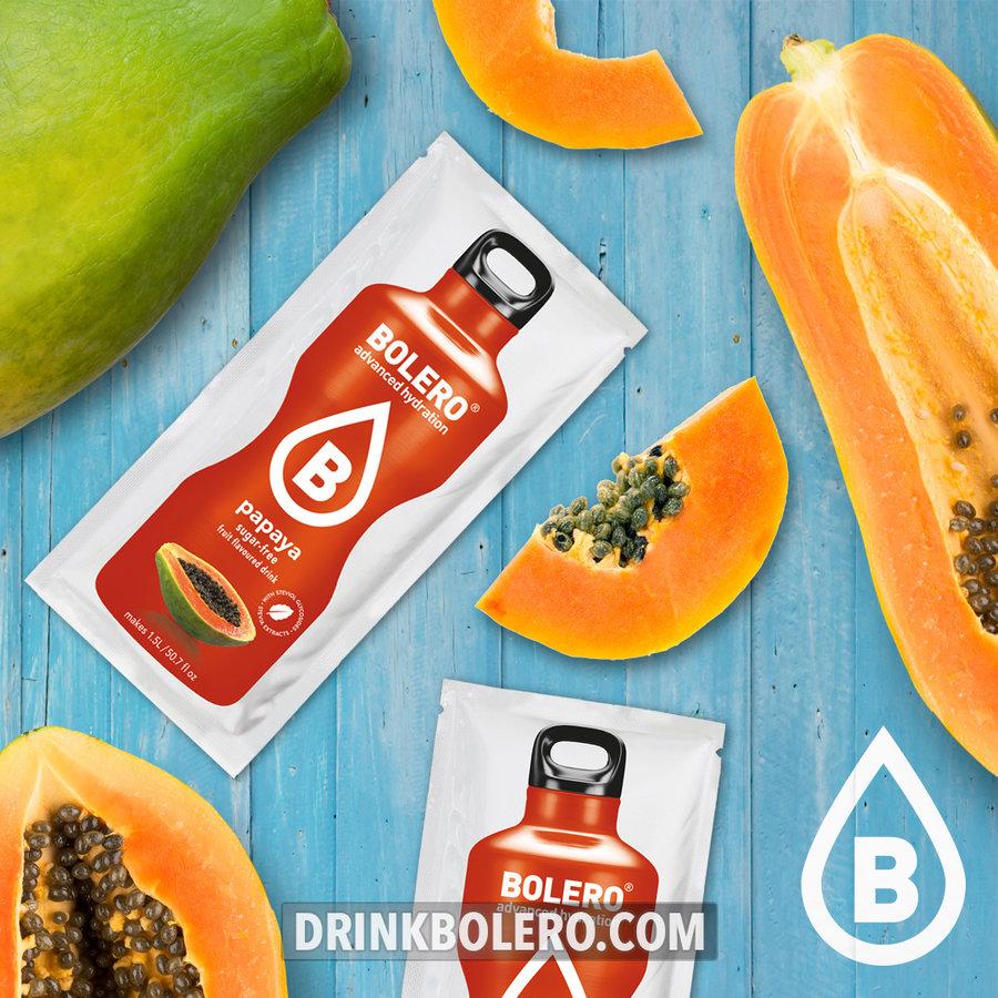 Papaya con Stevia | 24 sobres