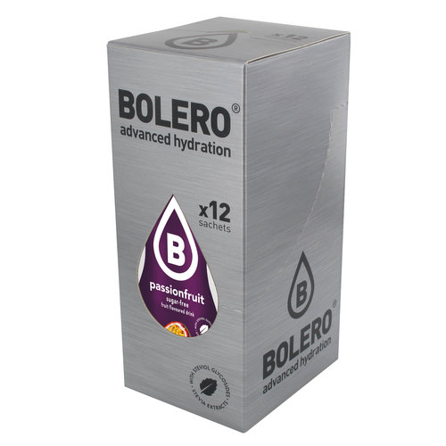 Bolero Passion Fruit 12 sachets with Stevia