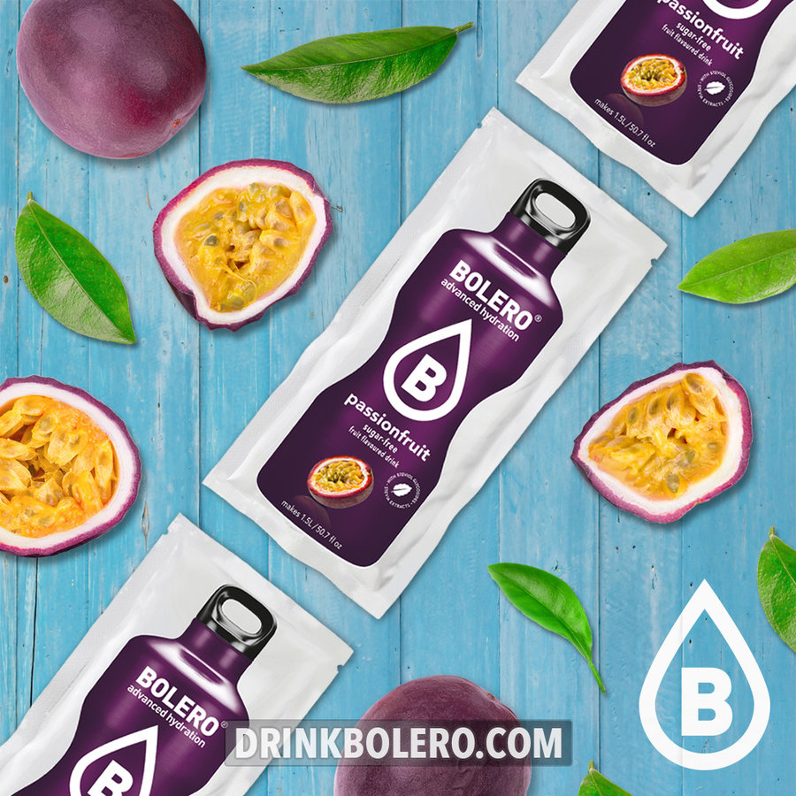 Passion Fruit 12 sachets with Stevia