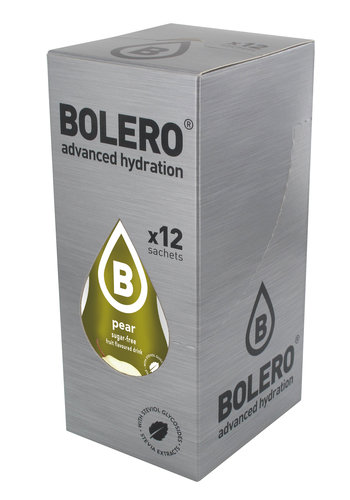 Bolero Pear 12 sachets with Stevia