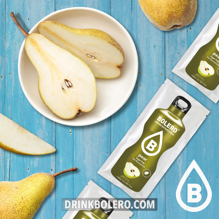 Pear 12 sachets with Stevia