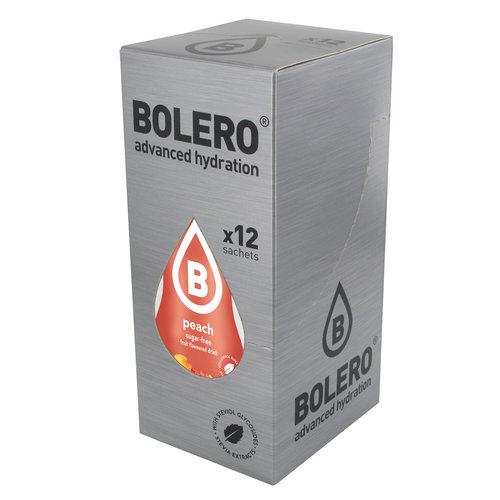 Bolero Perzik met Stevia | 12 Stuks (12 x 9g)
