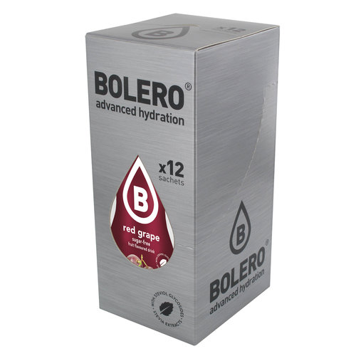 Bolero Rode Druif met Stevia | 12 stuks