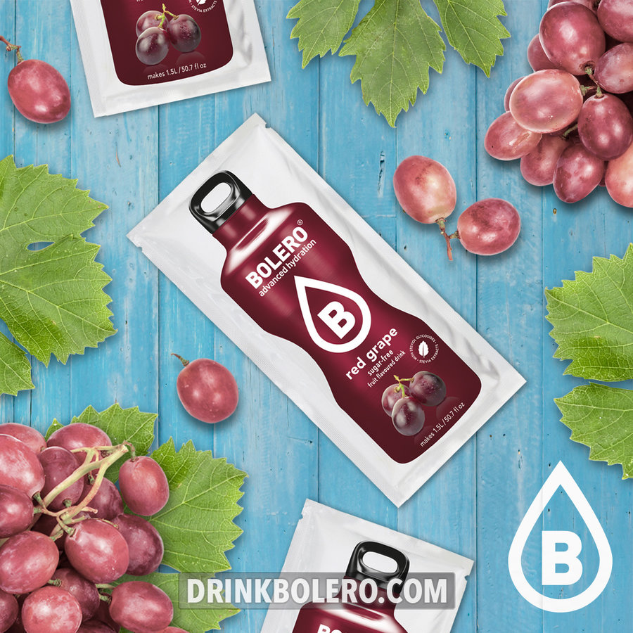 Rode Druif met Stevia   12 stuks