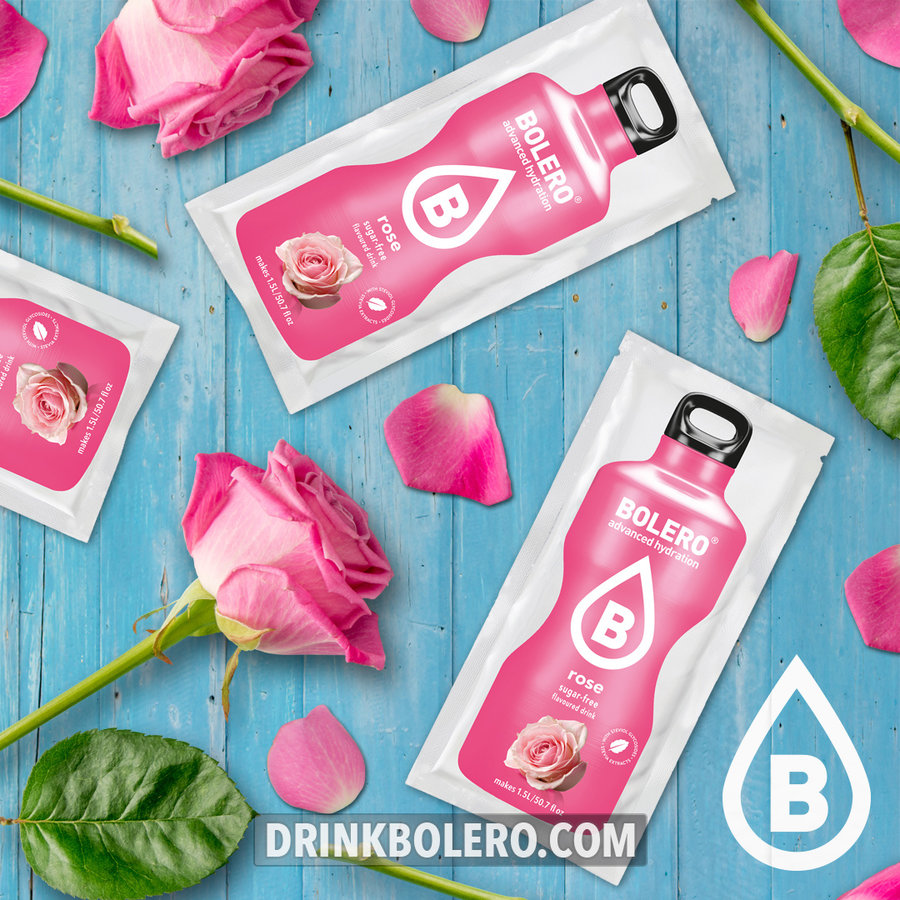 Rose 12 sachets with Stevia