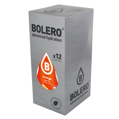 Bolero Sinaasappel | 12 stuks (12 x 9g)