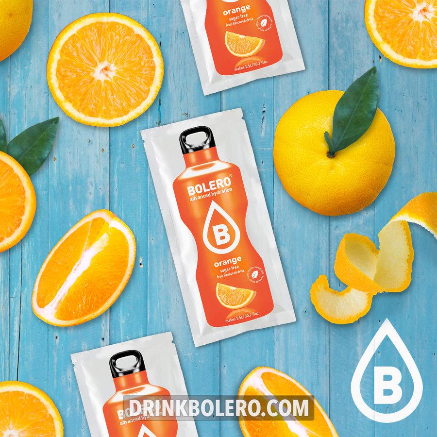 Orange 12 sachets with Stevia