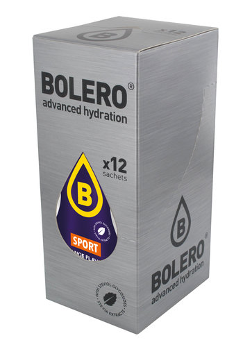 Bolero SPORT Orange | 12 sachets (12 x 9g)