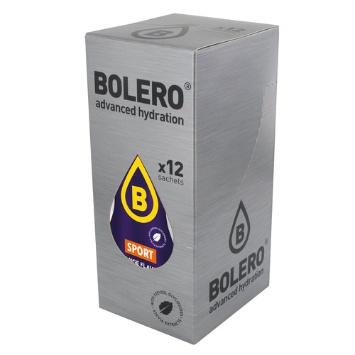 Bolero SPORT ORANGE | 12-er Packung (12 x 9g)