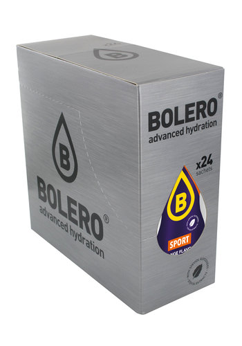 Bolero SPORT Orange 24 sachets with Stevia