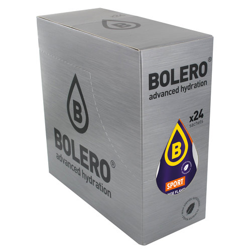 Bolero SPORT ORANGE | 24-er Packung (24 x 9g)