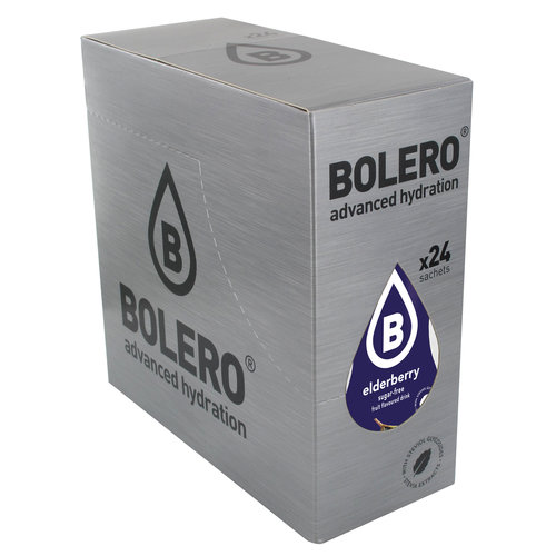 Bolero Elderberry | 24 sachets (24 x 9g)