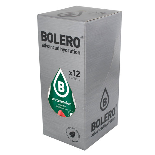 Bolero Watermeloen met Stevia | 12 stuks