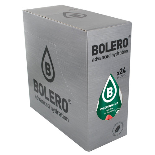 Bolero Watermeloen met Stevia | 24 stuks