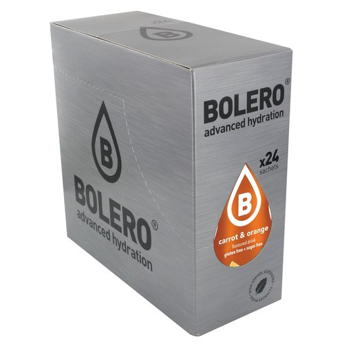 Bolero Wortel & Sinaasappel met Stevia | 24 stuks