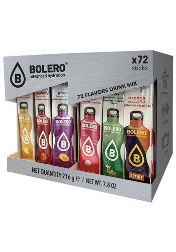 Bolero STICKS   MIX PACK   72 sabores (72 x 3g)