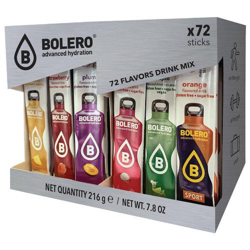 Bolero STICKS | MIX PACK | 72 sabores (72 x 3g)