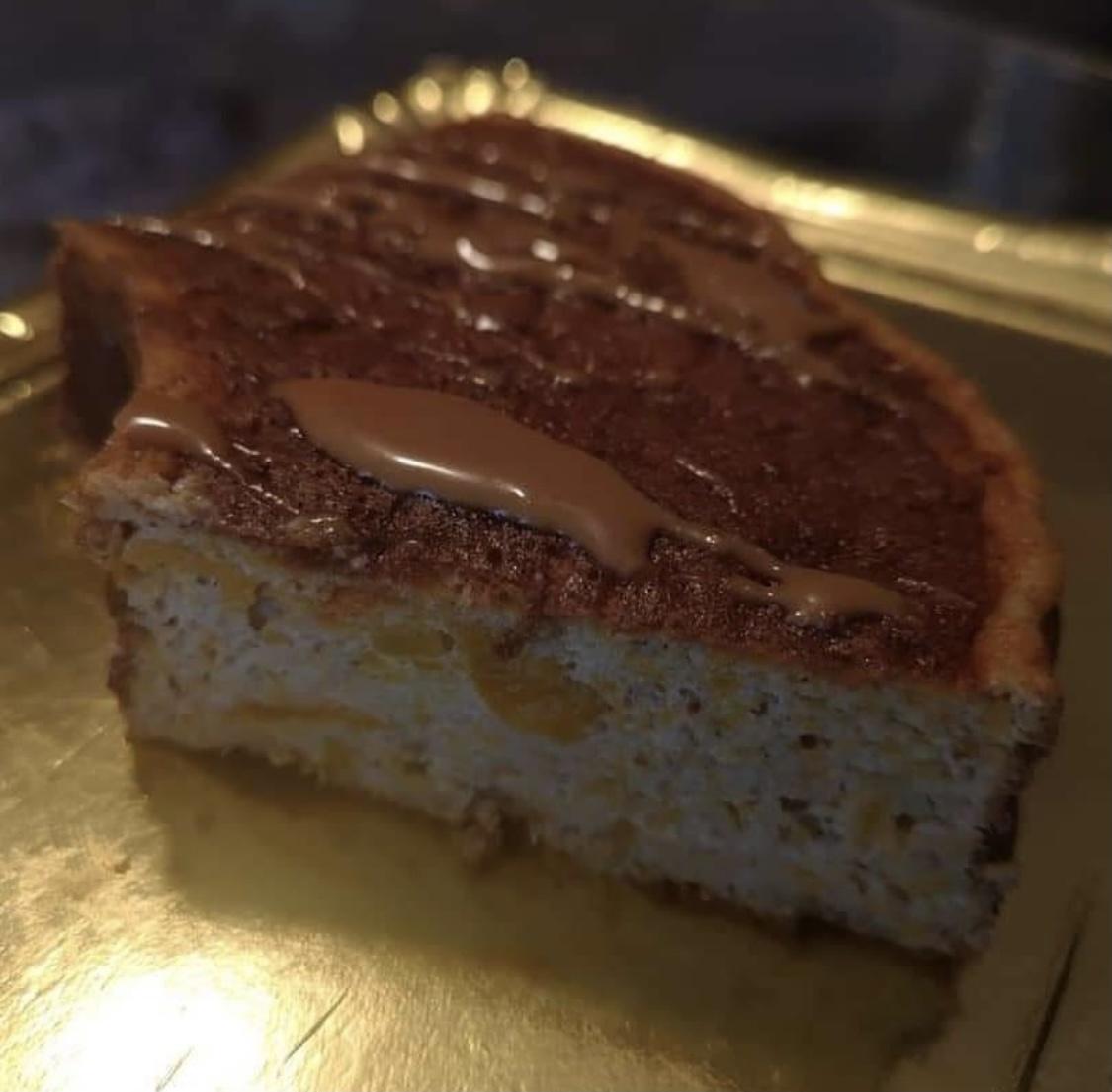 Bolero pompoen cake