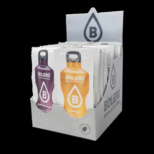 Bolero Kennenlernpaket | 58 verschiedene Sorten (58 x 9g)