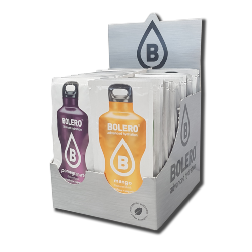Bolero MIX PACK |Paquete con 58 sabores hasta 114 litros