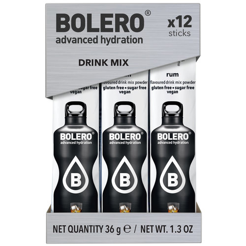 Bolero STICKS - Rum (12x3g)