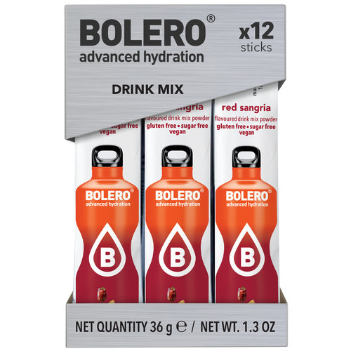 Bolero STICKS - Red Sangria (12x3g)
