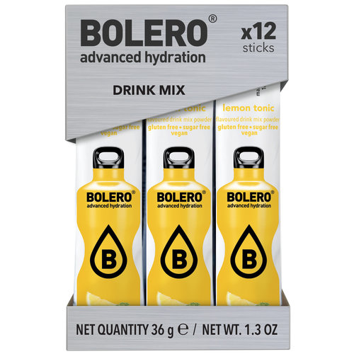 Bolero STICKS - Lemon Tonic (12x3g)