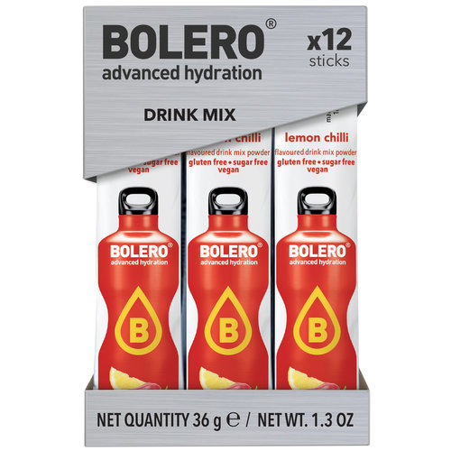 Bolero STICKS - Lemon Chilli (12x3g)