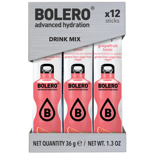 Bolero STICKS - Grapefruit Tonic (12x3g)