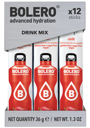 Bolero STICKS - Chilli (12x3g)