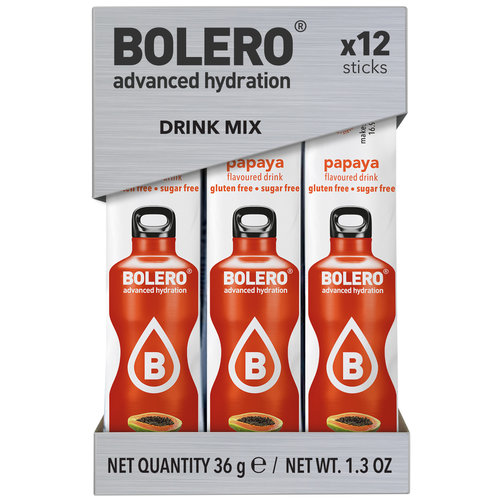 Bolero STICKS - Papaya (12 x 3g)