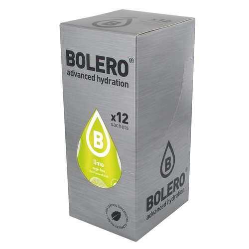Bolero Lime 12 sachets with Stevia