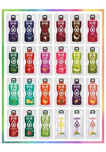 Bolero Kennenlernpaket | Wählen 24 Geschmack (24 x 9 g)