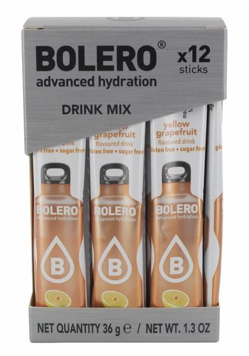 Bolero STICKS - Yellow Grapefruit (12 x 3g)