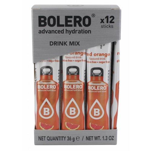 Bolero STICKS - Red Orange (12 x 3g)