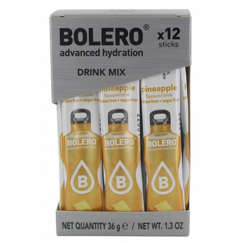 Bolero STICKS - Pineapple (12 x 3g)