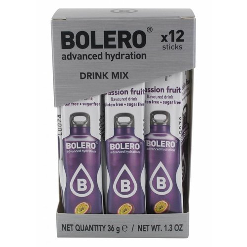 Bolero STICKS - Passion Fruit (12 x 3g)