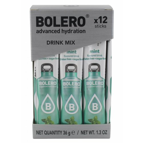 Bolero STICKS - Mint (12 x 3g)