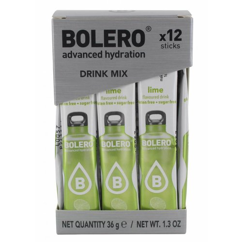 Bolero STICKS - Lime (12 x 3g)