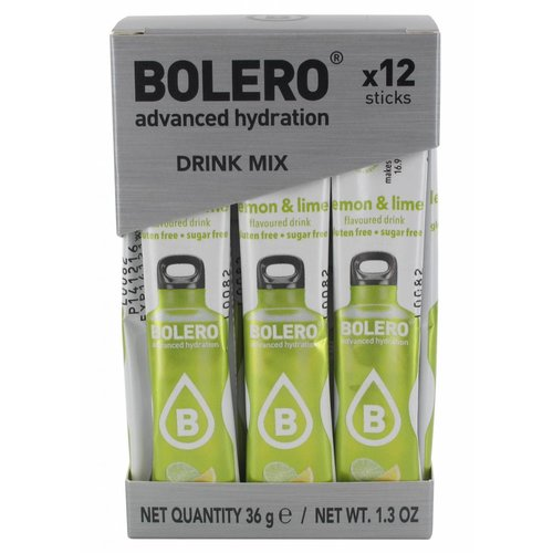 Bolero STICKS - Lemon & Lime (12 x 3g)