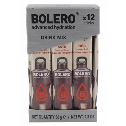 Bolero STICKS - Cola (12 x 3g)