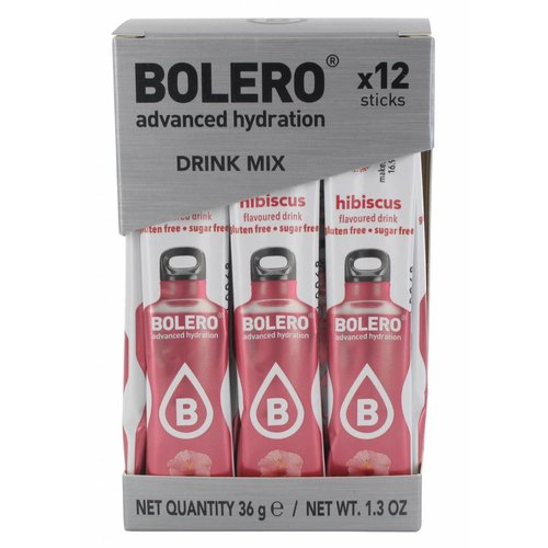 Bolero STICKS - Flor de Hibiscus