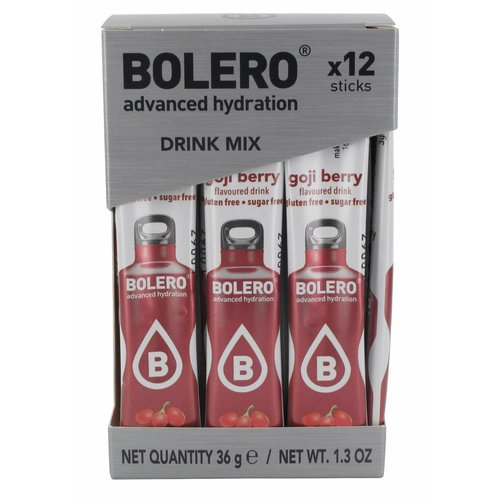 Bolero STICKS - Goji Berry (12 x 3g)