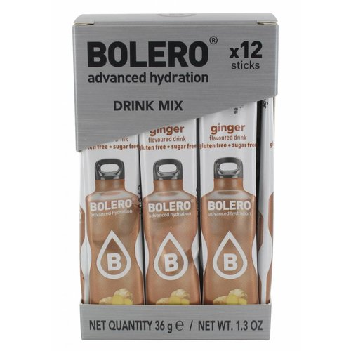 Bolero STICKS - Ginger (12 x 3g)
