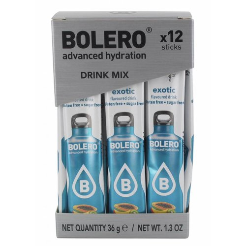 Bolero STICKS - Exotic (12 x 3g)