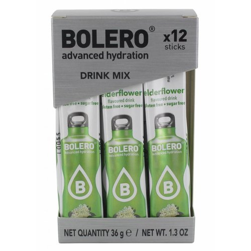 Bolero STICKS - Elderflower (12 x 3g)