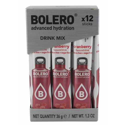 Bolero STICKS - Cranberry (12 x 3g)
