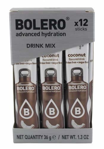 Bolero STICKS - Coconut (12 x 3g)