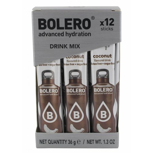 Bolero STICKS - Coconut (12 x 3g)